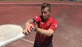 Özel sporcu Ali Topaloğlu rekorunu geliştirmeyi hedefliyor