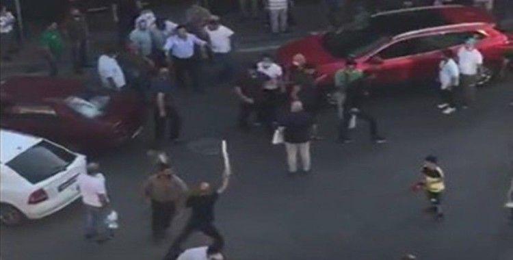 Bursa'da trafikte meydan muharebesi