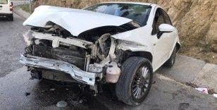 Bilecik'te trafik kazası; 1 kişi yaralandı