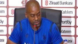 Trabzonspor Antrenörü Newton: İnşallah istediğimiz sonucu alıp kupayla döneriz