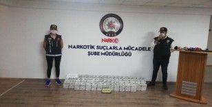 Malatya'da zehir tacirlerine büyük darbe: 195 kilo eroin ele geçirildi