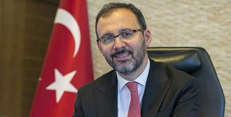 Bakan Kasapoğlu, TFF Yönetim Toplantısına katıldı