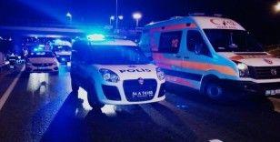 Alkollü sürücü zincirleme kazaya neden oldu: 1 ağır yaralı