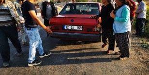 Otomobilin çarptığı 9 yaşındaki yabancı uyruklu çocuk ağır yaralandı