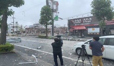 Japonya'da restoranda patlama