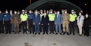 Emniyet Genel Müdürü Aktaş, Malatya'da trafik kontrol noktasını ziyaret etti