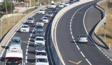 Bolu TEM Otoyolu ve D-100'de bayram trafiği