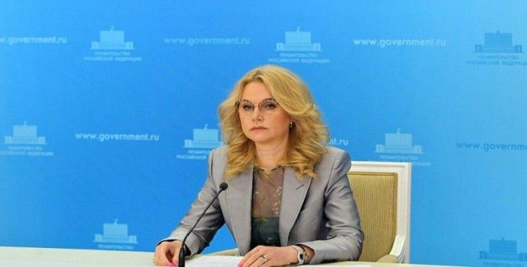 Rusya Başbakan Yardımcısı Golikova: Kovid-19 aşısı ağustosta tescil edilecek