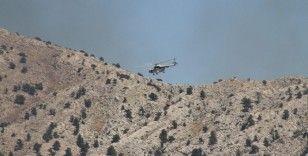 Konya'daki orman yangınını söndürme çalışmaları sürüyor