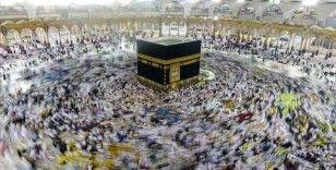 Kabe'de Kurban Bayram namazı kılındı