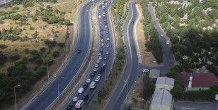 İstanbul'da havadan trafik ve kurban kesimi denetimi