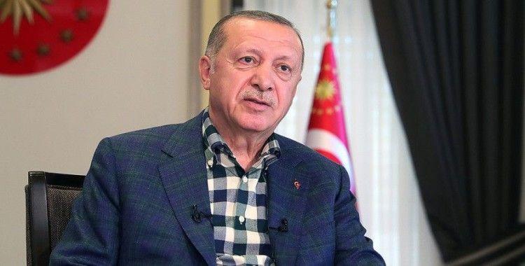 Cumhurbaşkanı Erdoğan: Ayasofya'nın ibadete açılması bayram sevincimizi daha da artırmıştır