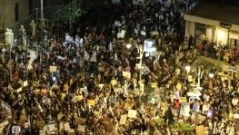 İsrail'de Netanyahu karşıtı gösteriler devam ediyor