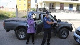 Erzurum'da Kovid-19 ile mücadele için 'çat kapı' ekibi kuruldu
