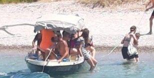Foça'daki facia teknesinde can yeleği bulunmadığı iddiası