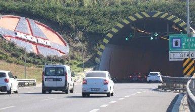 Bolu TEM Otoyolu trafiği bayramın son gününde rahatladı