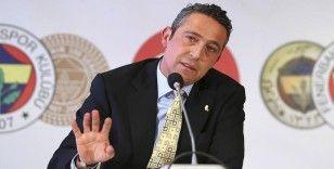 Fenerbahçe Kulübü Başkanı Koç: Futbolda bir dizi açıklamalarımız olacak