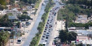 Dönüş yolu kilitlendi, Bodrum trafiği durdu