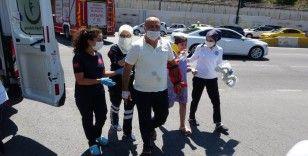 Pikniğe giden aile kaza yaptı: 6 yaralı