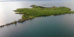 Akçakale Adası 10 bin yıllık tarihin izlerini taşıyor