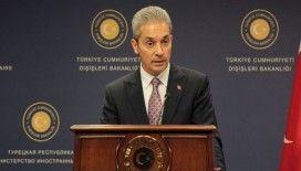 Dışişleri Sözcüsü Aksoy'dan Lübnan'a yardım gönderimi açıklaması