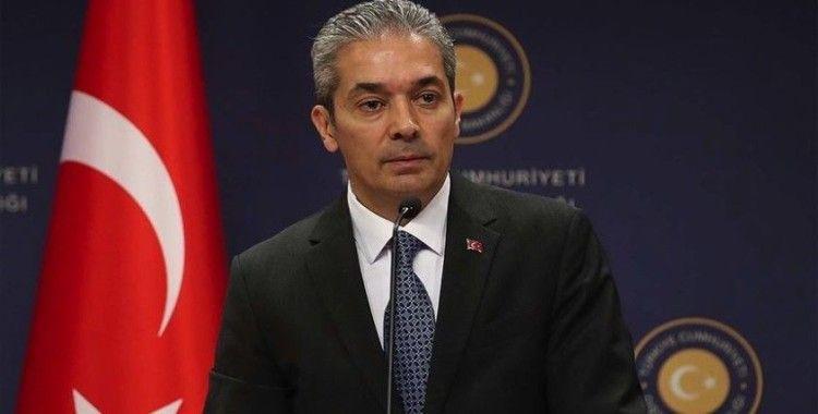Dışişleri Bakanlığı Sözcüsü Aksoy: Cammu Keşmir'in özel statüsünün kaldırılması durumu daha da karmaşıklaştırdı