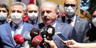 TBMM Başkanı Şentop: 'Lübnan'dan herhangi bir yardım isteği gelmedi'