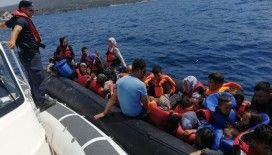 Ölüme terk edilen 37 göçmeni Sahil Güvenlik kurtardı