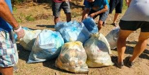Kazdağları'nda çöp alarmı