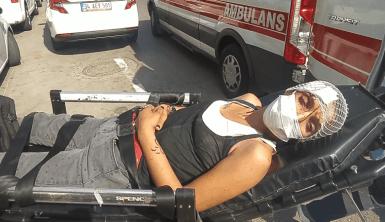 Bankadakiler soygun sandı, şiddet mağduru kadın çıktı