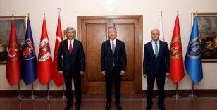 Bakan Akar, TEMAD Başkanı Ürgen'i kabul etti