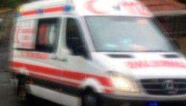 Kafasına beton parçası düşen veteriner hekim ağır yaralandı