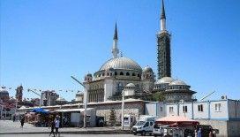 Taksim'e yapılan caminin genel işçiliğinin yüzde 65'i tamamlandı