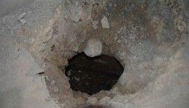 Sinop'taki gizli tünel gün yüzüne çıktı
