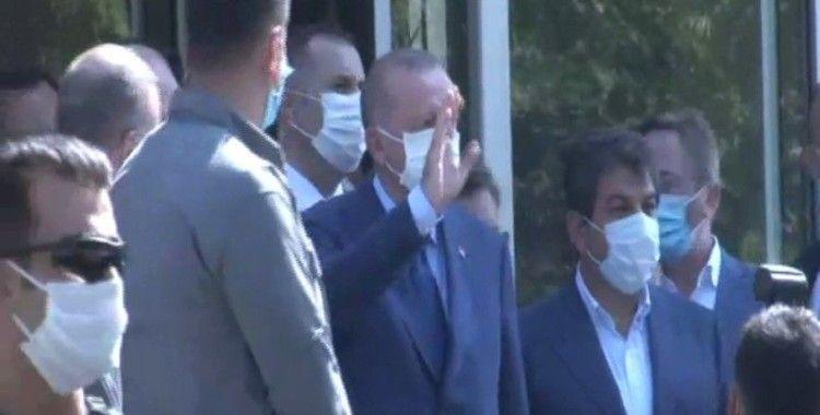 Cumhurbaşkanı Erdoğan Fatih'te yemek yedi