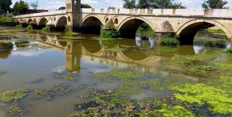 Tunca Nehri'nde kuraklık alarmı