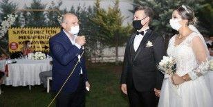 İçişleri Bakanı Soylu 'düğün salonu' denetimine katıldı