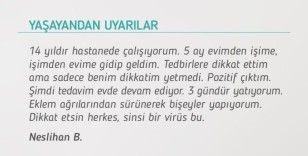 Bakan Koca, korona virüse yakalanan kişinin uyarısını paylaştı