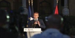 """Macron: """"4 Ağustos umutsuzluğa çarpan bir yıldırım gibiydi"""""""