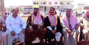 İdlib halkından liderleri öldürülen aşirete destek protestosu