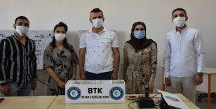 Cizre'de hijyenik yaşam için hava sterilizasyon cihazı üretildi