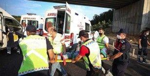 Kuzey Marmara Otoyolu'da otobüs kazası: 5 ölü 25 yaralı