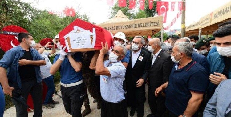 Şehit polis Osman Gül son yolculuğuna uğurlandı