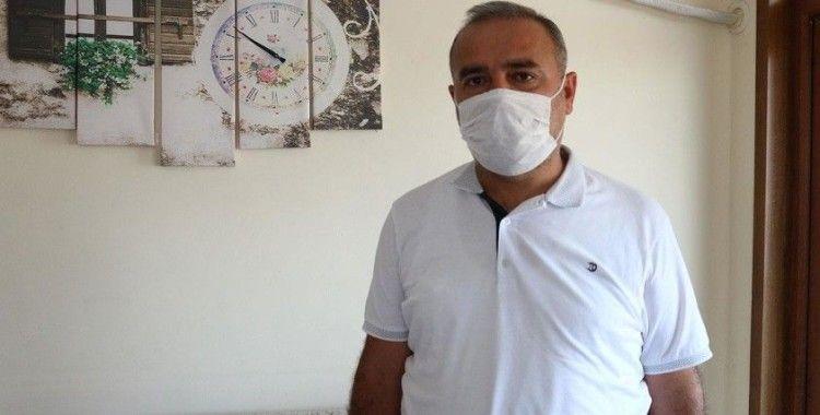 Kovid-19'u yenen Turgut Kayar: Kimse bize bir şey olmaz çevremize bir şey olmaz demesin