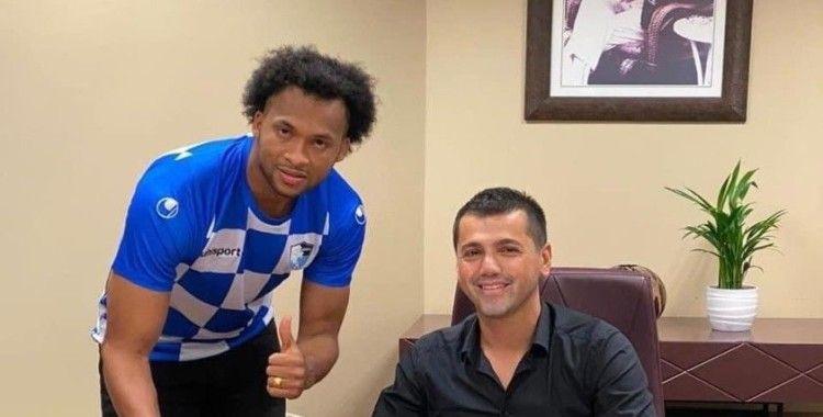 BB Erzurumspor Arturo Mina'yı kadrosuna kattı