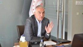 Bakan Ersoy'dan Galata Kulesi'nde devam eden restorasyon hakkında açıklama