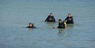 Denizde kaybolan genç için ekipler seferber oldu