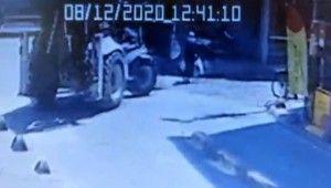 İstanbul'un göbeğinde kepçe dehşeti kamerada