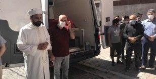 Şehit Polis Memuru Çetinkol'un cenazesi helallik için evine getirildi