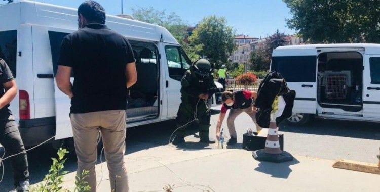 Yalova'da 'canlı bomba' paniği